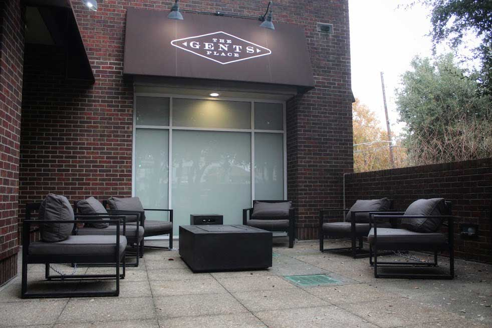 Outdoor Area The Gents Place Uptown Dallas
